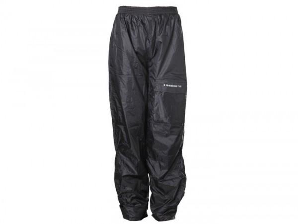 Pantalón de lluvia -SCEED 42- Nylon con forro térmico, negro - L