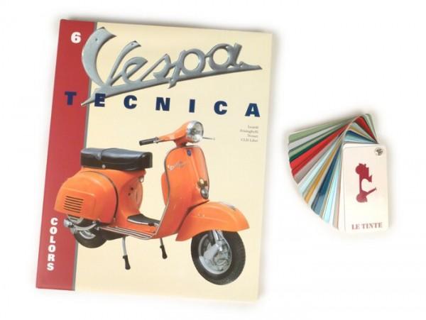 Buch -Vespa Tecnica VI Colors- Italienisch