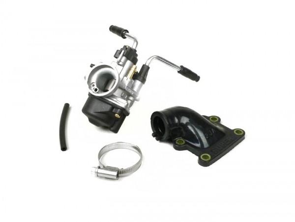 Carburettor kit -BGM Pro 17,5mm PHBN- Minarelli 50 cc 2-stroke (vertical, manual choke)-