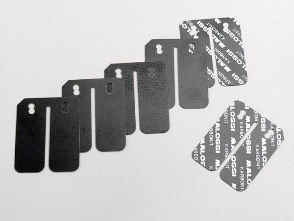 Láminas -MALOSSI Carbon/Carbonio- Piaggio 50-180cc