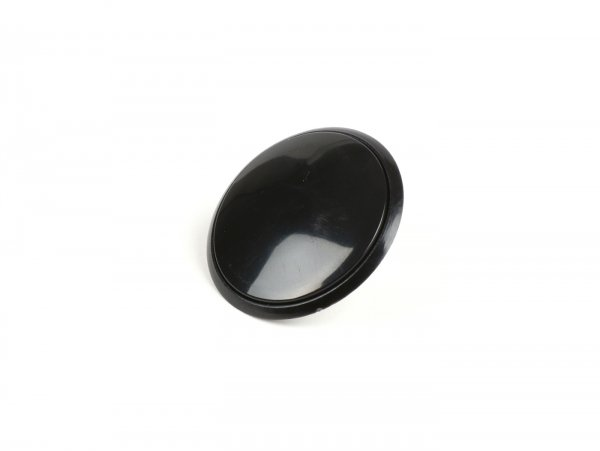 Cover for mirror hole - blind plug -  antenna hole - hole cover -UNIVERSAL- black - Ø=32mm (Vespa GT/GTS 125-300)