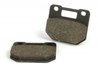 Brake pads -BGM ORIGINAL STANDARD 52.6x44.1x7.5mm - Stage6 R/T 4-piston radial brake caliper - pad material: organic