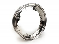Wheel rim -BGM PRO- Lambretta LI (series 1-3), LI S, SX, TV (series 2-3) - stainless steel, polished