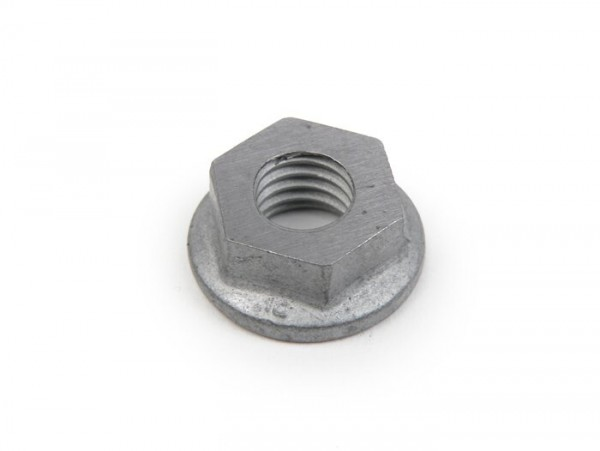 Nut M10 x1.50 WS=16 medium high -BGM ORIGINAL- (used as clutch nut Vespa for gear cluster V50, PV125, ET3, PK S, PK XL) - tensile strength 10