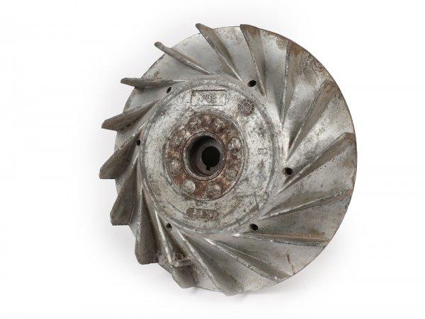 Volante magnético -PIAGGIO (NOS) 2850g- Vespa PX80, PX125 - diámetro pequeño (Ø185mm), sin Elestart