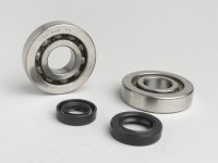 Bearing and oil seal set for crankshaft -OEM QUALITY- Kymco 50cc (type Movie)