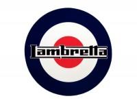 Aufkleber -LAMBRETTA Target Lambretta Ø=70mm-
