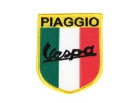Patch thermocollant -PIAGGIO Vespa (tricolore italien)- 65x80mm
