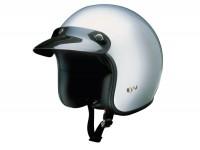Helm -RB-710- silber - M (57-58 cm)