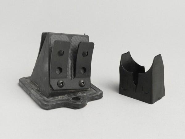 Membranblock -MALOSSI MHR-Replica- Piaggio 50-180 ccm - Carbon