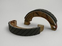 Brake shoes -NEWFREN Ø=152x25mm antiaqua- LAMBRETTA GP, DL