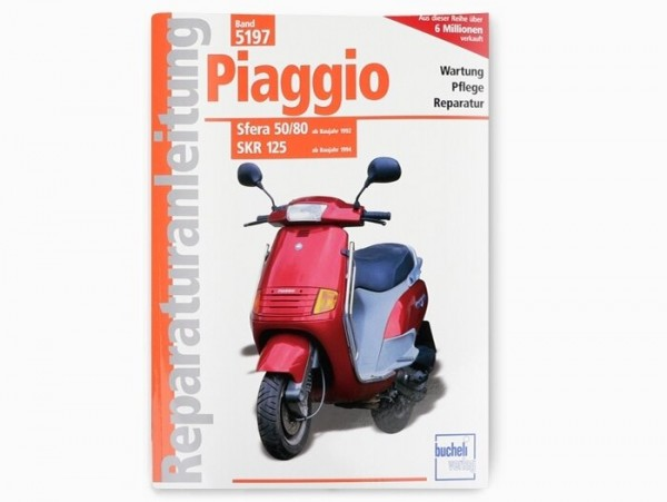 Book -Reparaturanleitung- Piaggio SKR, Sfera 50, Sfera 80