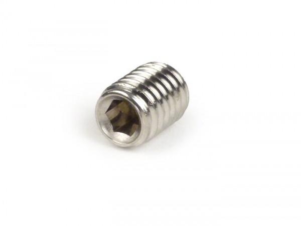Headless screw, Allen -DIN 914- M8 x 12mm - VA (stainless steel) (used for steering column ring handlebar/leg shield Lambretta)