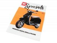 Brochure -SC Specials: VESPA Smallframe (Modern Vespa) Sprint, Primavera, S, LX, LXV (2013-)- edition 01/2019 - Spanish