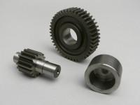 Getriebe sekundär -POLINI- Peugeot 50 ccm (Typ Speedfight) - 16/44 = 1:2,75