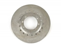 Base plate clutch sprocket (riveted) -PIAGGIO, 7-spring Vespa type (Rally200, PX200, T5 125cc)