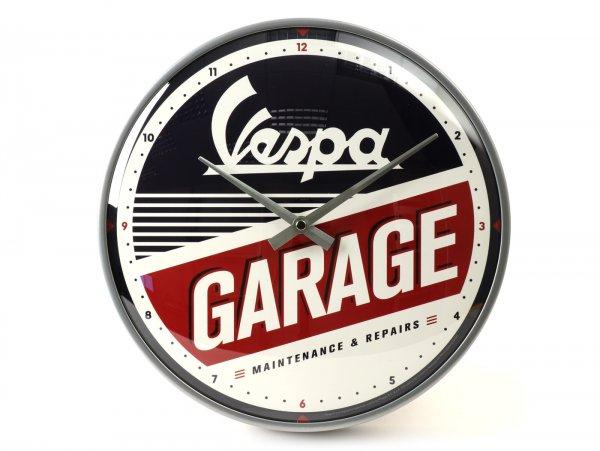 "Orologio a parete tondo -VESPA Ø=31cm- ""GARAGE"""