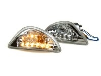 Pair of indicators -BGM ORIGINAL LED (E-mark)- Vespa LX, LXV, S - rear