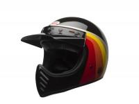 Helm -BELL MOTO-3 Chemical Candy black/gold 17- Crosshelm, schwarz/gold - S (55-56 cm)