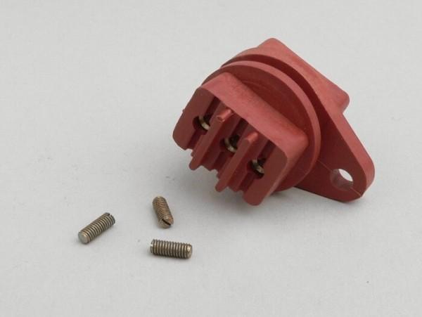 Low tension socket 6V -LAMBRETTA- D & LD 125 (1956), D & LD 150 (July 1956-1957)