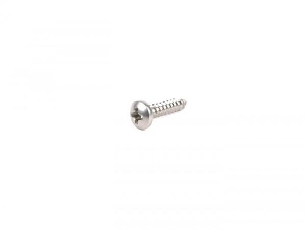 Schraube -DIN 7981- 3,5x16mm - Edelstahl (verwendet für Blinkergläser Vespa PX hinten)