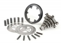 Gear cluster shaft set -BGM PRO- Vespa PX200, Rally200 - 12-13-17-21 teeth with primary drive BGM 64 teeth and primary gear repair kit (reinforced) BGM PRO