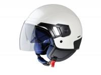 Helmet -VESPA PJ- open face helmet, pearl white - XS (52-54cm)