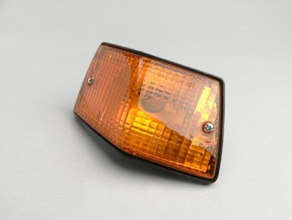Blinker -PIAGGIO- Vespa PX80, PX125, PX150, PX200, T5 125cc hinten links - Orange