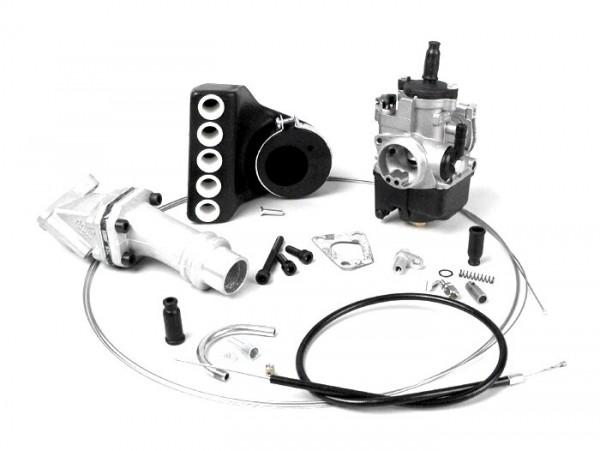 Kit carburador -POLINI 3 agujeros, 24mm Dellorto PHBL, lámina- Vespa PK XL