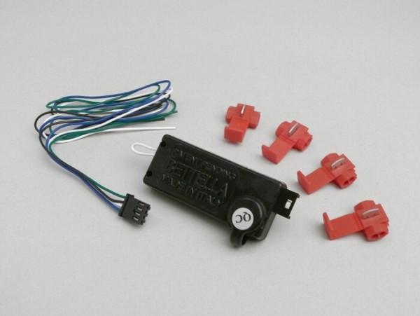 Limitador de velocidad/rpm -BETTELLA se desactiva mediante un código ejecutado con la maneta de freno- scooter