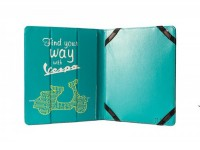 "iPad/Tablet PC cover -VESPA, 20x24x1.8cm- ""Find your way with Vespa"""