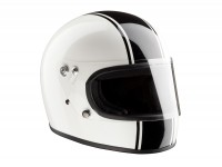 Casco -BANDIT ECE casco integral- blanco - XL (61-62cm)