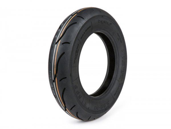 Tyre -BGM Sport- 3.50 - 10 inch TL 59S 180 km/h (reinforced) - for tubeless rims only