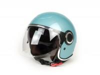 Helm -VESPA VJ 70- Jethelm, hellblau (azzurro 433) - XL (61-62cm)