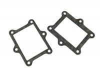 Kit de juntas para colector de admisión con caja láminas -QUATTRINI M200- Vespa V50, PV125, ET3, PK50, PK80, PK125