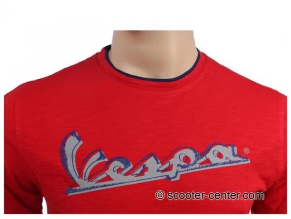 T-Shirt -VESPA Original- red - XXL