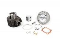 Zylinder -MALOSSI MK 3 166 ccm 3 Kanal (abgedreht für PX80 Motorgehäuse)- Vespa PX80 (Kurbelwelle PX125 wird benötigt)