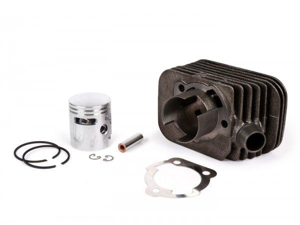 Zylinder -POLINI 63 ccm Sport Ø43mm- Piaggio Ciao (Kolbenbolzen = Ø 10mm) ohne Zylinderkopf