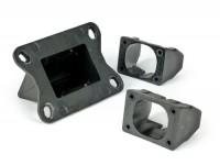 Valvola lamellare -MALOSSI MHR Team VL18- Vespa Largeframe, Smallframe, Minarelli AM6 - fibra di carbonio