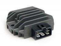 Regolatore di tensione -5-Pin 12V con intermettenza frecce- Vespa ET4 (ZAPM19), LX125-150, LXV125-150, S125-150, Primavera125-150, Sprint125-150, GT125-300, GTS125-300, GTV125-300, GTL125-200, Piaggio 50 ccm Purejet 2-tempi (auto ad iniezione), 125-2
