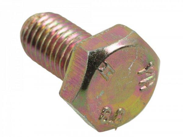 Tornillo -DIN 933- M10 x 20mm (resistencia mecánica 8.8) - (usado para el soporte del brazo oscilante del motor)