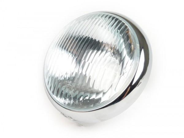 Scheinwerfer -SIEM, Ø=105/115mm (Glas/außen)- Vespa VL2, VL3