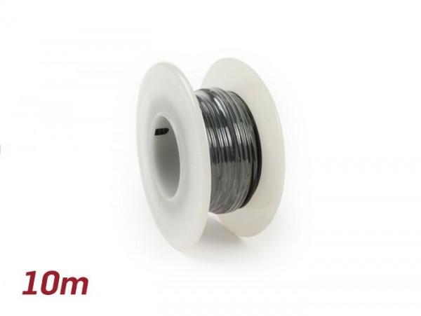 Câble électrique -UNIVERSEL 0,85mm²- 10m - noir