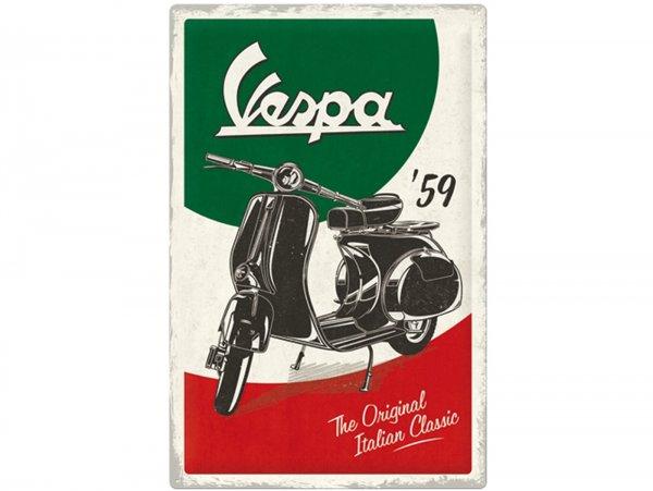 """Pubblicità -Nostalgic Art- Vespa, """"The Italian Classic"""", 40x60cm"""