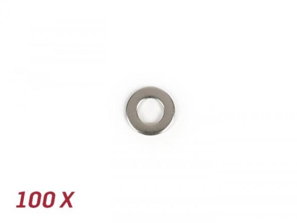 Rondella -DIN 125 inox- 100 pezzi - M8