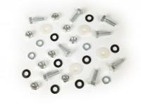 Seat fastener kit -OEM QUALITY- Lambretta LI (series 3), LI S, SX, TV (series 3), DL, GP