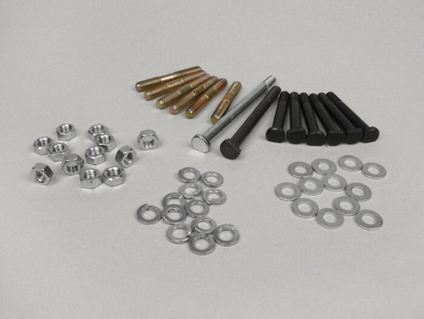 Engine casing bolt set -PIAGGIO- Vespa PX (1984-), Cosa