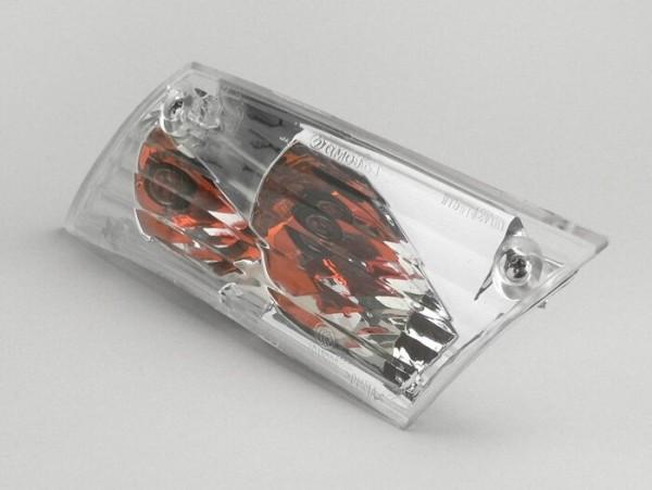 Blinker -PIAGGIO- Zip 2 weiß - klarglas - hinten links
