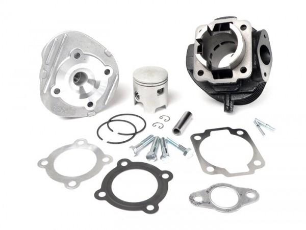 Cilindro -POLINI fundición gris 75 ccm Racing- Vespa V50, PK50