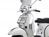 Portapacchi anteriore ribaltabile -PIAGGIO- Vespa Largeframe  - Vespa PX80, PX125, PX150, PX200 - cromato